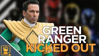 The Original Green Ranger Was Kicked Out Of The Power Rangers Premiere