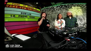 John Frusciante and Aura T09 on Vans Channel 66 interview today