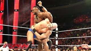 Cesaro vs. Big E: Raw, May 11, 2015