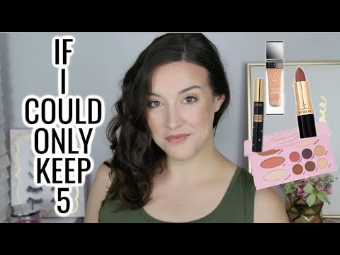 IF I COULD ONLY KEEP 5 MAKEUP PRODUCTS thumbnail