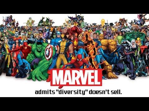 "Marvel Comics Admits that ""Diversity"" Doesn"