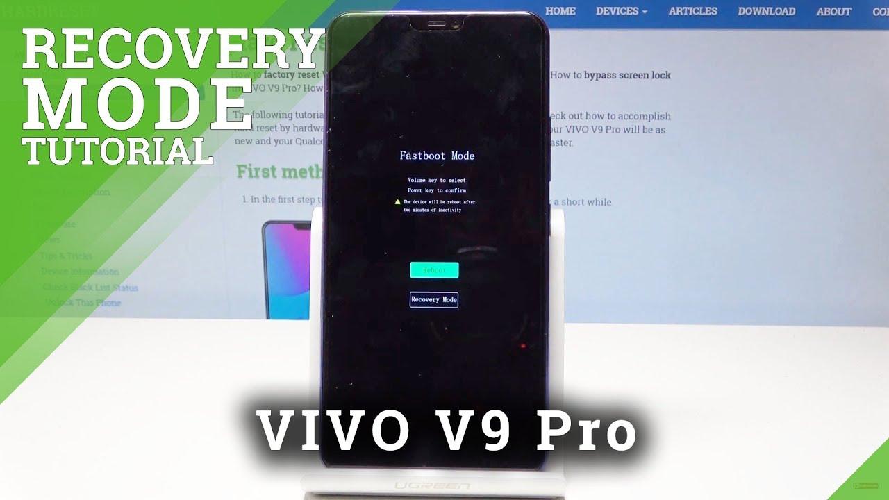 Recovery Mode VIVO V9 Pro - HardReset info