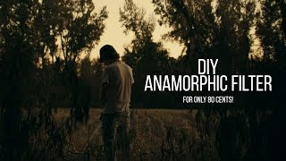 DIY Anamorphic Filter for Film Look!