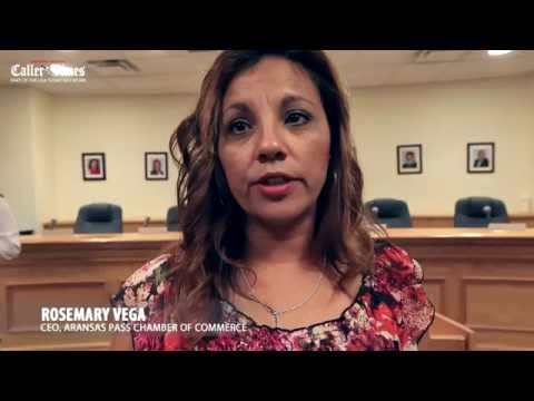 Aransas Pass Chamber of Commerce CEO Rosemary Vega