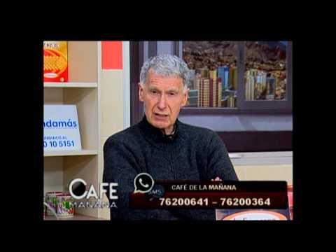 """Entrevista en el """"Cafe de la mañana"""" por Fides"""