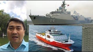 Chiến hạm Quang Trung lao ra Bãi Tư Chính – Hải Dương 8 ăn 10 cú đâm chí mạng?