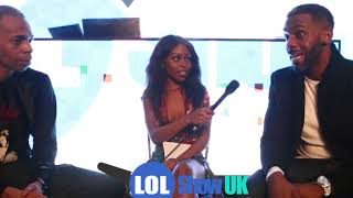 Richard Blackwood and Slim Comedian Interview