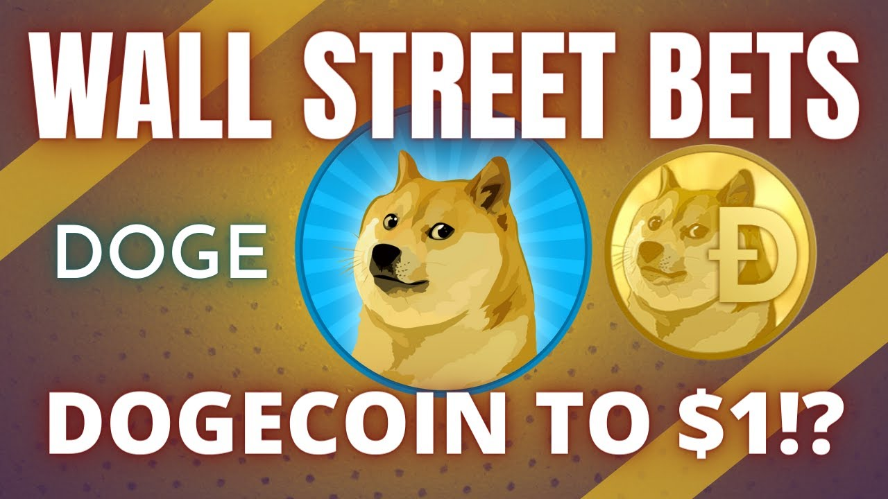 CAN DOGECOIN (DOGE) HIT  AFTER WALLSTREETBETS HYPE!? Cryptocurrency News & Analysis 2021
