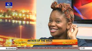 Being On Dark Knight Rises Set Was A Defining Moment For Me-- Actress Zainab Balogun |Sunrise|