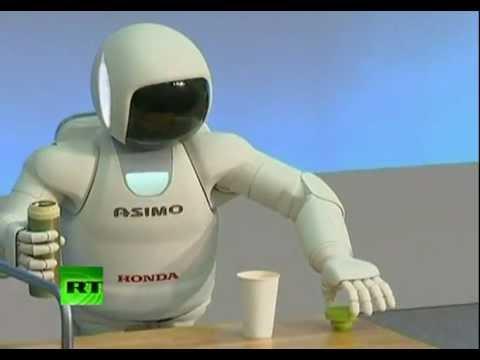 Asimo un robot inteligente capaz de ayudar en una crisis for Robot de cocina inteligente