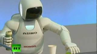 Asimo, un robot inteligente capaz de ayudar en una crisis nuclear