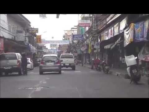 เส้นทางถนนวชิรปราการ จังหวัดชลบุรี