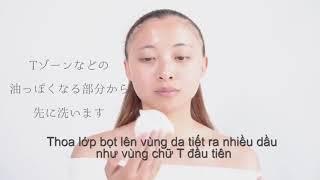 Hướng Dẫn Sử Dụng Xà Phòng Rửa Mặt COCOLARME Mild Soap