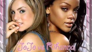 JoJo vs Rihanna - Take A Little Bow