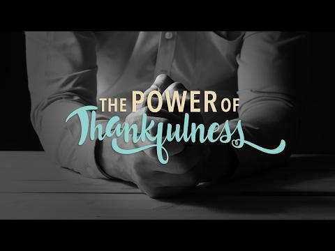 The Power Of Thankfulness - Pastor Nicole Crank