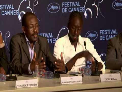 """Cannes 2010 """"Un homme qui crie"""" - conférence de presse"""