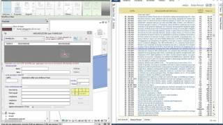 Esempio computazione pareti ISOVER e finestre INTERNORM oggetti BIM scaricati dal WEB