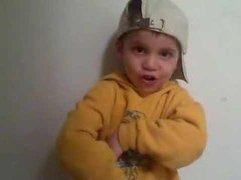 Gangster Little Kid