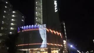 地下鉄 西中島南方駅から徒歩で激安ゲストハウスの『Osaka Backpacker's Hostel』までの道のり