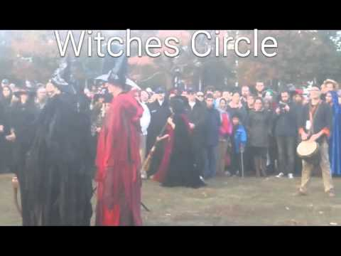 Witches Circle Coven, Salem Massachusettes, Halloween