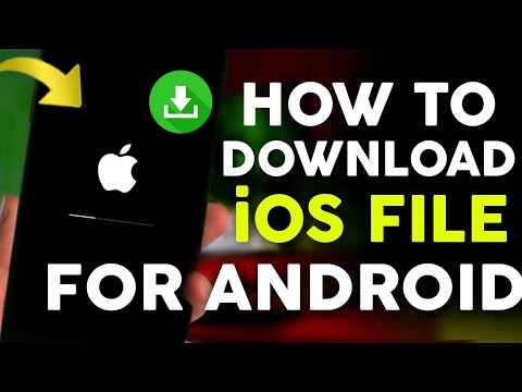 How To Download IOS 7/8/9/10/11 IPhone Update File For Any Android Phones |