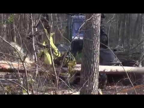 Harvester John Deere 1270E + H480C harvesterhead - Bosbouw / Forestry