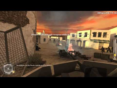 Call Of Duty 2 - Gameplay Walkthrough Mission 14 (British Mission 7 - Outnumbered & Outgunned)