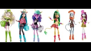 New Monster High Brand - Boo Students and Ghouls Getaway Dolls thumbnail