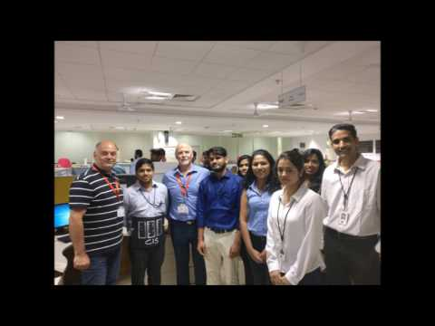 David Cairns- Infosys Pune Visit March 2017
