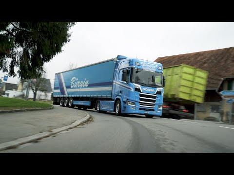 New R 500 delivers major fuel savings for Switzerland's Bürgin Transport