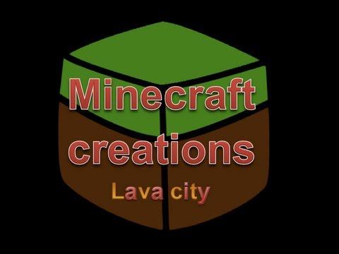 Minecraft Lava City