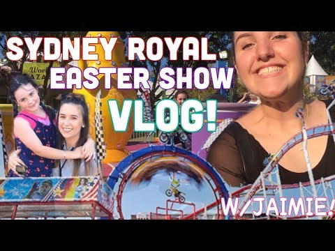 EXPLORING THE EASTER SHOW | VLOG! W/ JAIMIE