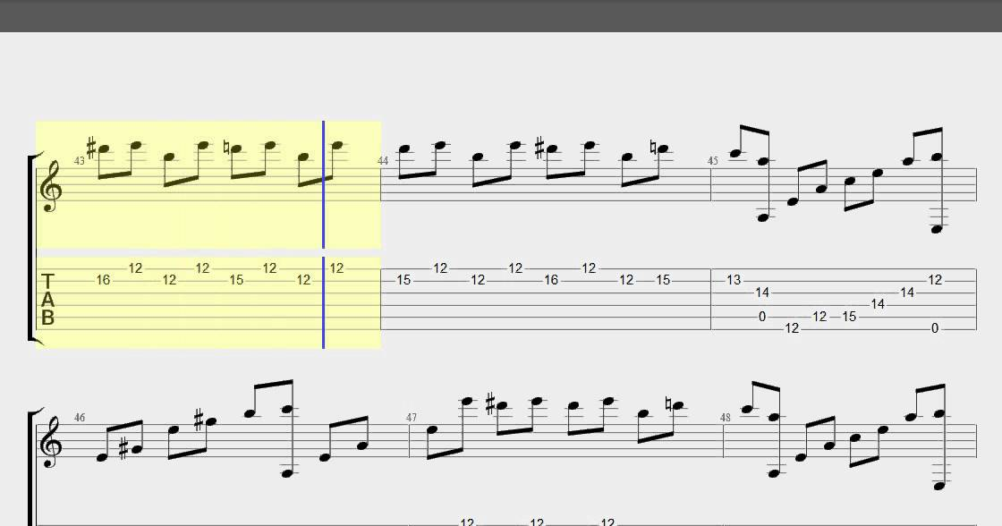 Fur Elise guitar tabs learn to play fur elise on guitar 100% with ...