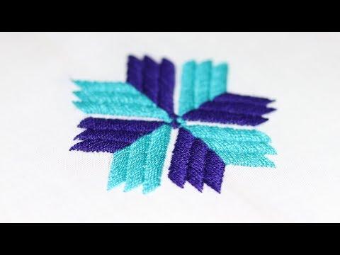 How To Make Phulkari Stitch   Hand Embroidery Tutorial   DiyRoll