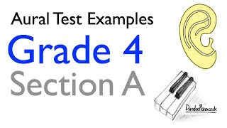 Aural Test Examples: Grade 4 ABRSM - Section A