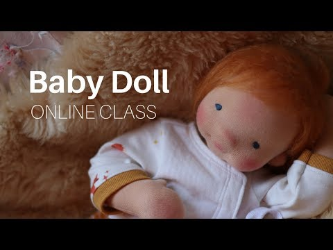 Dollmaking: Creating A Baby Cloth Doll With Fig And Me | Online Class Sneaky Peeks