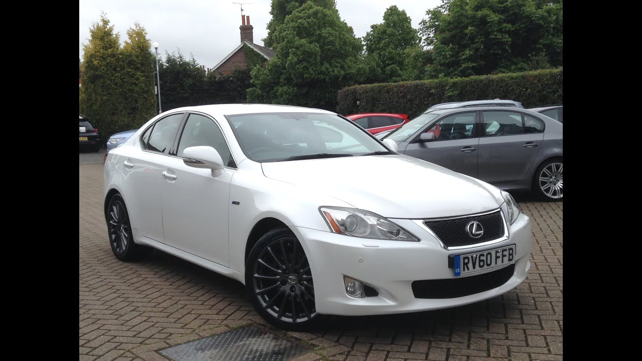 lexus is 250 2 5 f sport 4dr for sale at cmc cars near brighton sussex youtube. Black Bedroom Furniture Sets. Home Design Ideas