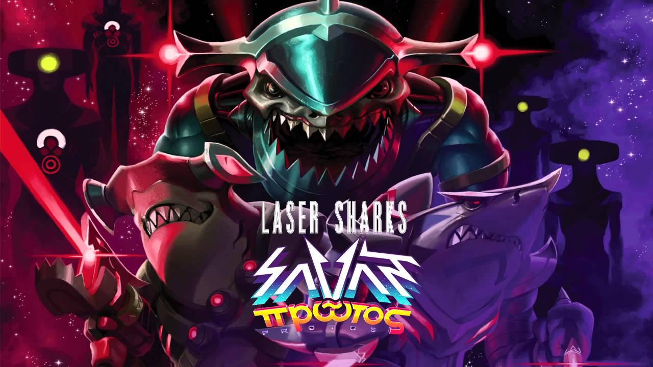 savant laser sharks youtube