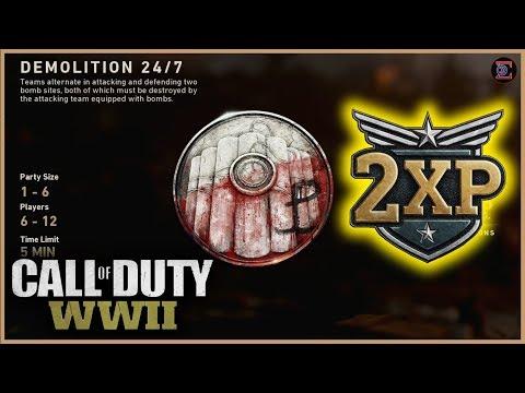 DEMOLITION & 2XP in Call of Duty: WW2