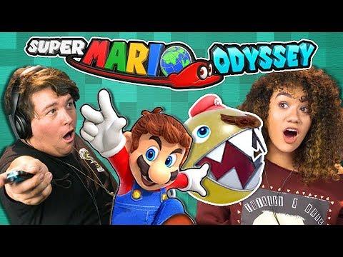 SUPER MARIO ODYSSEY (React: Gaming)