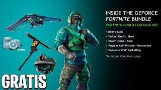*NEW* NVIDIA PACK +2000 PaVos ON FORTNITE AND HOW TO GET IT FREE!