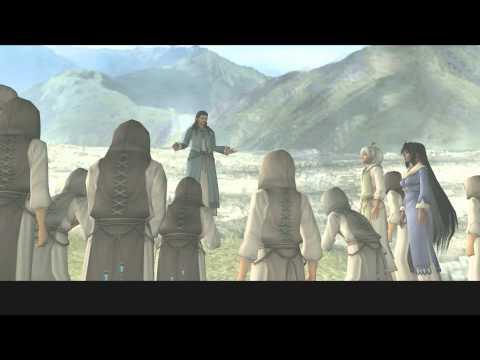 Xenosaga III HD Cutscene 316 - She Who Resembles KOS-MOS (Lost Jerusalem) - ENGLISH - REGULAR MODE