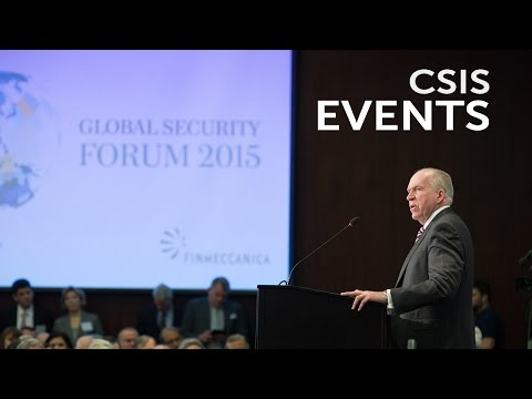CIA Director John Brennan on ISIS and Global Threats at CSIS