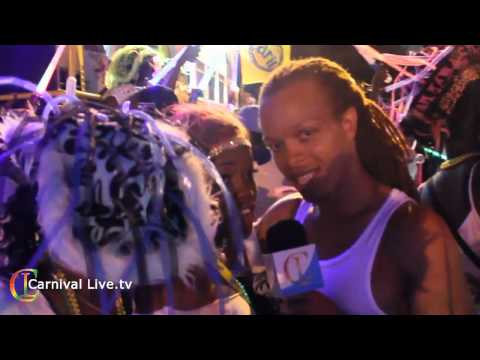 Grenada Carnival 2011 Carib Monday Night Glow Mas Part 1 Carnival Live.tv