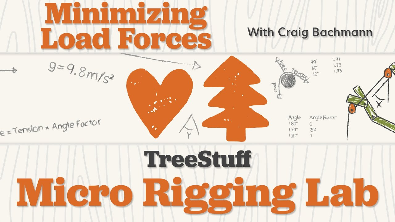 Minimizing Load Forces: TreeStuff Micro Rigging Lab