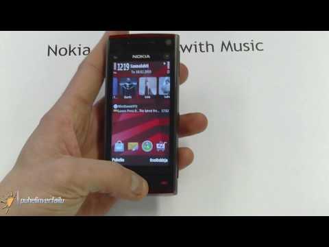Nokia X6 - bloopers