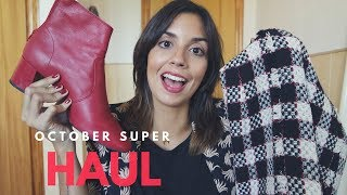 SUPER HAUL OCTUBRE! Mango Outlet, Pull and Bear, Oysho, Firmoo, ...|| State Beauty