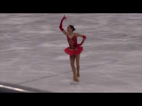 2018 Winter Olympics Figure Skating Free Alina ZAGITOVA (OAR)