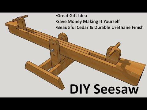 Diy Seesaw Build Modified Anna White Plans Doovi