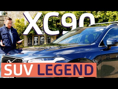 Volvo XC90 | Reviewed | AMAZING safety for humans ... and some animals